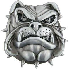 Bulldog Belt Buckle