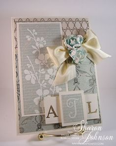 No Time To Stamp? » Let Your Soul Sing Wedding Monogram