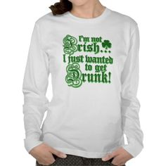 Just Wanted To Get DRUNK Tee Shirt