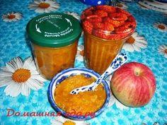 Тыквенно-яблочный джем с курагой и имбирём
