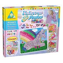 PUDDING - Sticky Mosaics - Unicorns - TOYS R US - $14.99