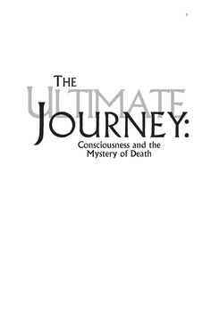 Stanislav Grof - The Ultimate Journey - Consciousness And The Mystery Of Death