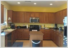 How to Refinish Kitchen Cabinets Makeover & Tutorial!