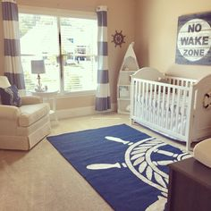 Nautical nursery More