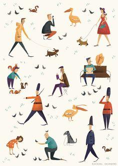 Character/Scene Designs - Rachael Saunders
