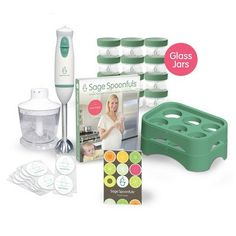 Baby Food Making And Storage Kit  The Lets Get Started Package With Glass Jars By Sage Spoonfuls * You can find more details by visiting the image link.