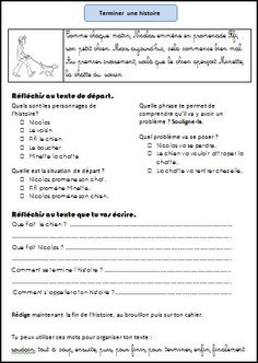 Production d'écrit - L'école de Julie Ap French, Core French, Learn French, Education And Literacy, French Education, French Language Lessons, French Lessons, French Teacher, Teaching French