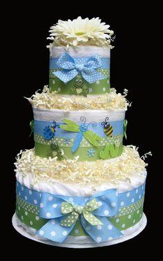 Baby Shower Diaper Cake Centerpiece   Item Details Reviews (120) Shipping & Policies