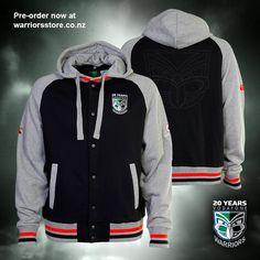 2015 Vodafone Warriors hooded jacket #WarriorsForever #jacket #2015 #Warriors #merchandise