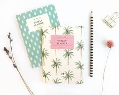 A6 Weekly Planner Notebook Ver.2 / Weekly Diary Journal /