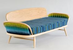 Ercol 355 by Donna Wilson on show in Milan April 2014. Read more about #Ercol in MidCentury issue 06 #Midcenturymagazine
