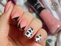 #nails #nail #fashion #style #gatinhos #cute #beauty #beautiful #cat #pretty #girl #girls #stylish #sparkles #styles #gliter #nailart #art #opi #blackcat #essie #unhas #preto #branco #rosa #love #shiny #polish #nailpolish #littlecat