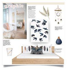 """Simple"" by caroline-brazeau ❤ liked on Polyvore featuring interior, interiors, interior design, home, home decor, interior decorating, Melrose International, Inès de NicolaÃ¿, Leftbank Art and Bloomingville"