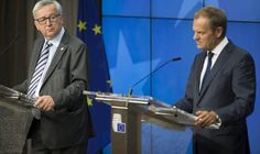 EUROPEAN Parliament chief Donald Tusk has railed against the out of touch EU elite today in a thinly veiled attack on his boss Jean-Claude Juncker.16