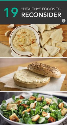 These foods might seem healthy, but look a little closer and you'll find a different story. #healthy #swaps