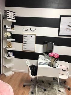 Spa room decor, beauty room decor, beauty salon decor, home nail salon, n. Home Beauty Salon, Home Nail Salon, Nail Salon Design, Nail Salon Decor, Beauty Salon Decor, Salon Interior Design, Beauty Salon Interior, Small Beauty Salon Ideas, Beauty Bar