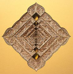 New Stained Glass Windows Made from Stacked Laser Cut Paper by Eric Standley