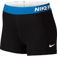 Nike Women's Pro Cool Training Shorts (Black/Vivid Pink/White/X-Small): Women's Nike Pro Short Cheer Outfits, Sporty Outfits, Nike Outfits, Athletic Outfits, Athletic Wear, Athletic Clothes, Sporty Clothes, Nike Clothes, Athletic Style