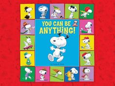 Create With Mom: Celebrating Snoopy with You Can Be Anything Digital Book Giveaway