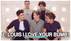 Louis' bum appreciation post