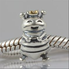 Queen Bee Authentic 925 Sterling Silver Core Charm Animals
