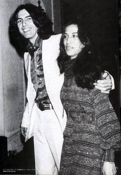 George Harrison And Olivia Arias