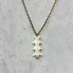 "My snake vertebrae necklace was included in ""The 13 Creepiest Handmade Crafts on Etsy"" blog post by TLC Inspirations!"