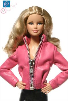 Handmade Kleidung für Barbie (Jacke): Mersey