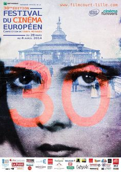 Poster of the 30th edition of Festival du Cinéma européen