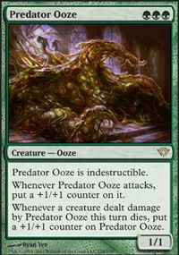 Predator Ooze from Dark Ascension at TCGplayer.com as low as $1.84