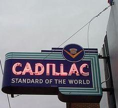 """CADILLAC ~ Standard of the World"" http://www.blackbookonline.com/"