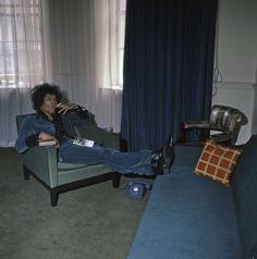 Jimi Hendrix | 34 Montagu Square | Image: Petra Niemeier - K & K/Redferns / Getty Images