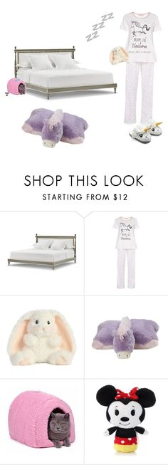 """""""Goodnight"""" by unicorn106 ❤ liked on Polyvore featuring Bunny Williams Home, Dorothy Perkins, Pillow Pets and Esme"""