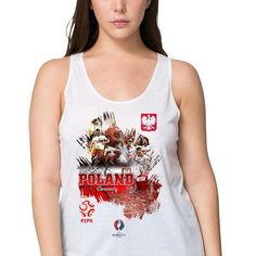 #Euro2016 #POLAND #BialoCzerwoni #whiteandreds #JakubBlaszczykowski #RobertLewandowski  #EUFA #EUFA16 #PES #Football #Sports #Championship #European #Season2016  #women  #vest #tanktop