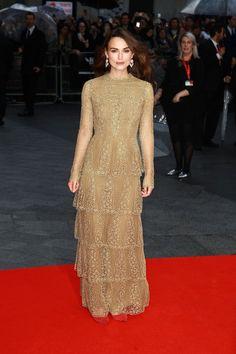 Elfengleich: Keira Knightley in Valentino. Mehr Looks des Tages gibt es bei ICON http://www.welt.de/icon/article124496720/Keira-Knightley-in-Valentino.html