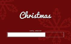 Loading Christmas Wallpaper