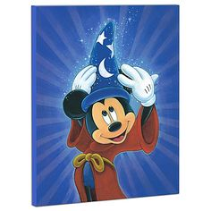 Limited Edition Disney Fine Art Pop! ''Magic Is In The Air'' Mickey Mouse Giclée on Canvas   http://www.disneystore.com/pop-art-collection-limited-edition-disney-fine-art-pop-magic-is-in-the-air-mickey-mouse-giclee-on-canvas/mp/1305684/1000861/