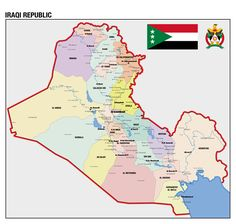 Map Info & Chart : A map of an expansionist Iraq . A map of an expansionist Iraq . By Souhondron At infographic.tv we provide handpicked collection of the Iraq Map, Map Symbols, Asia Map, Old World Maps, Country Maps, Alternate History, Baghdad, Historical Maps, Middle East