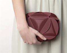 3ders.org - Maison 203 and Odo Fioravanti unveil new, geometrically inspired 3D printed clutch | 3D Printer News & 3D Printing News