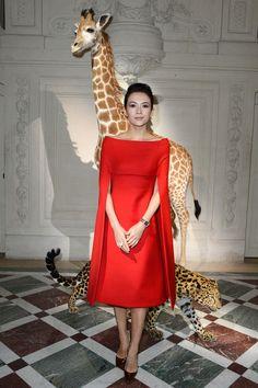 Zhang Ziyi in Valentino Haute Couture