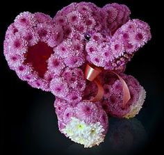 Elefantito. Mascotas florales.
