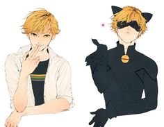 I could never imagine Adrien doing the things Cat Noir does. Miraculous Ladybug Wallpaper, Miraculous Ladybug Fan Art, Miraclous Ladybug, Ladybug Comics, Kawaii, Anime K, Hot Anime, Anime Guys, Manga