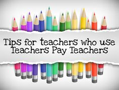 Tips for Teachers who use Teachers Pay Teachers   Want to learn how to effectively use TPT? I did a training for our school district and thought I would share with everyone! Come and check out my blog post and download a free PDF that shows the in's and out's of TPT!  JD's Rockin' Readers