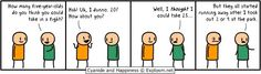 Cyanide and Happiness Fighting Children