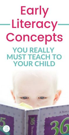 How to Teach Early Literacy Concepts About Print/Books - Babywise Mom