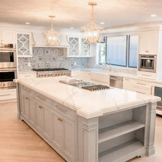 Traditional kitchens are designed to impress. They feature curves, ornate details, and rich, deep colors. However, they are not overly ostentatious.  A careful combination of a few of these traditional details will create a showstopping traditional luxury kitchen.  #traditionalkitchen #traditionalkitchens #classickitchen #classickitchendesign #cabinetshop #woodcabinets #nothingordinary #kitchendesign #kitchen #kitchencabinets #home #vogueliving #kitchenlove #kitchendetails #homedesign