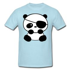 Makes me think of lil A...she loves pandas and pirates :)