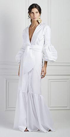 Johanna Ortiz - <3 Trendy Dresses, Nice Dresses, Skirt Fashion, Fashion Outfits, Beach Bridal Showers, Royal Clothing, Spring Skirts, Caftan Dress, Look Chic