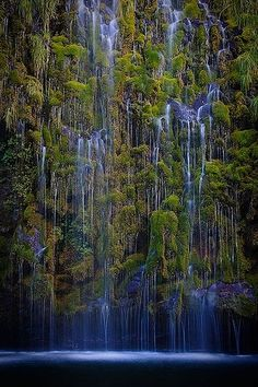 101 Most Magnificent Places Made By Nature Or Touched by a Man Hand (part 1), Mossbrae Falls, California, USA