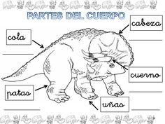 ESOS LOCOS BAJITOS DE INFANTIL: MAS FICHAS DE DINOSAURIOS